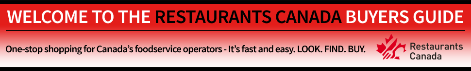 Welcome to the Restaurants Canada Buyers Guide. One-stop shopping for Canada's foodservice operators - it's fast and easy. LOOK. FIND. BUY.